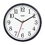 Sharp 8 14 Wall Clock Black