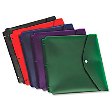 Cardinal Dual Pocket Snap Envelopes For