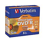 Verbatim UltraLife Archival Grade Gold DVD
