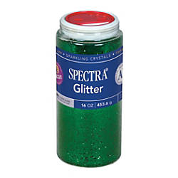 Pacon Glitter Shaker Top Can Green