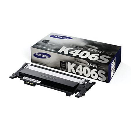 samsung k406 clt k406s black toner cartridge by office depot officemax. Black Bedroom Furniture Sets. Home Design Ideas