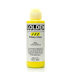 Golden Fluid Acrylic Paint 4 Oz