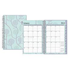 Blue Sky WeeklyMonthly Planner 5 x