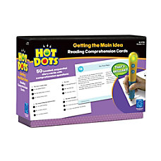 Educational Insights Hot Dots Reading Comprehension
