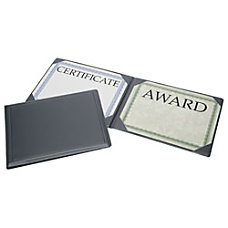 SKILCRAFT Award Certificate Binder 8 12
