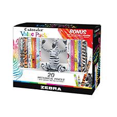 Zebra Cadoozles Mechanical Pencils With ZEN