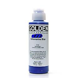 Golden Fluid Acrylic Paint 4 Oz