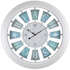 FirsTime Coastal Round Wall Clock 22