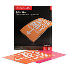 Swingline GBC UltraClear Thermal Laminating Pouches