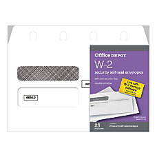 Office Depot Brand Self Seal Envelopes