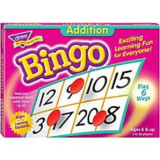 Trend Addition Bingo Game ThemeSubject Learning