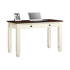 Whalen White And Cherry Writing Desk