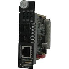 Perle CM 1110 S2SC40 Gigabit Ethernet