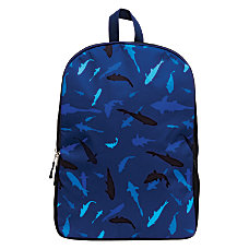 Mojo Shark Tank Backpack BlackBlue