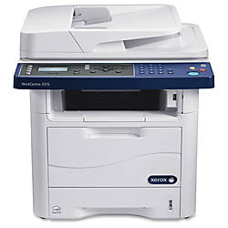 Xerox® Workcentre 3315DN Monochrome Laser All-In-One, Printer, Scanner, Copier, Fax