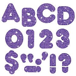 TREND Ready Letters Glitter 3 Purple
