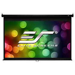 Elite Screens Manual M120V Manual Projection