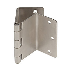 HealthSmart Expandable Door Hinges Satin Nickel