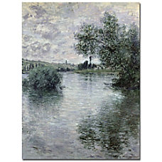 Trademark Global Seine At Vetheuil 1879