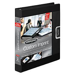 Wilson Jones Custom Imprint Presentation Binder