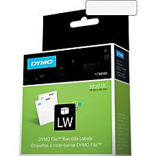 Dymo File Barcode Label 075 Width