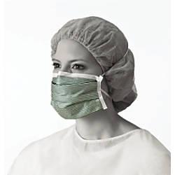 Medline N95 Adjustable Respirator Masks GreenWhite