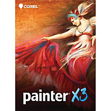 Corel Painter X3 Upgrade WindowsMac Download