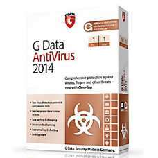 G Data AntiVirus 2014 1 PC