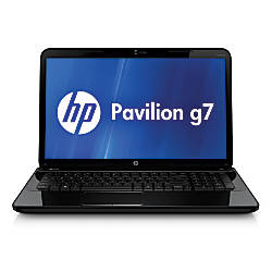 """HP Pavilion g7-2246nr Laptop Computer With 17.3"""" Screen & Next Gen AMD A6 Accelerated Processor"""