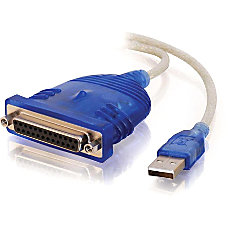 C2G 6ft USB to DB25 IEEE