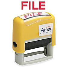 SKILCRAFT Pre Inked Message Stamp FILE