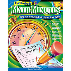 Creative Teaching Press Eighth Grade Math