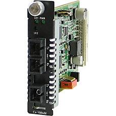 Perle C 100MM S1SC40D Media Converter