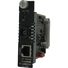 Perle CM 1000 S1SC20D Gigabit Ethernet