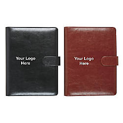 Leatherette Personal Notebook 9 14 x
