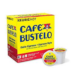 Cafe Bustelo Espresso Roast Coffee K