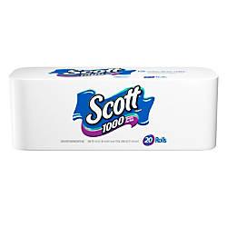 Bathroom Signs Office Depot scott single ply bathroom tissue 1000 sheets per roll case of 20