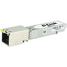 D Link 1000BASE T Copper SFP