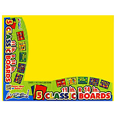 ArtSkills 60percent Recycled Classic Color Boards