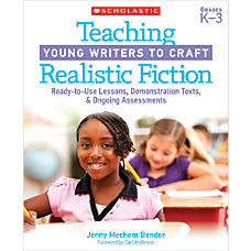 Scholastic Teaching Young Writers To Craft