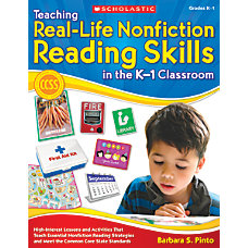 Scholastic Teaching Real Life Nonfiction Reading