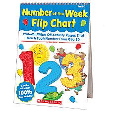 Scholastic Number Of The Week Flip