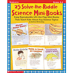 Scholastic 25 Solve The Riddle Science