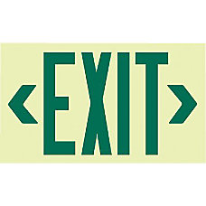 GLO BRITE ECO FRAMED EXIT SIGNS