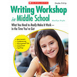 Scholastic Writing Workshop In Middle School