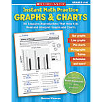 Scholastic Instant Math Practice Graphs Charts