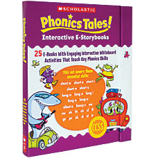 Scholastic Phonics Tales Interactive e Storybooks