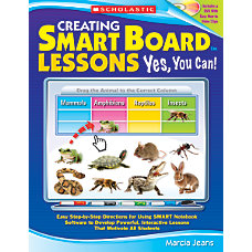 Scholastic Creating SMART Board Lessons Yes