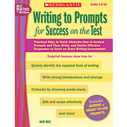 Scholastic Writing To Prompts For Success