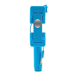 iplanet mini cable selfie stick blue by office depot officemax. Black Bedroom Furniture Sets. Home Design Ideas